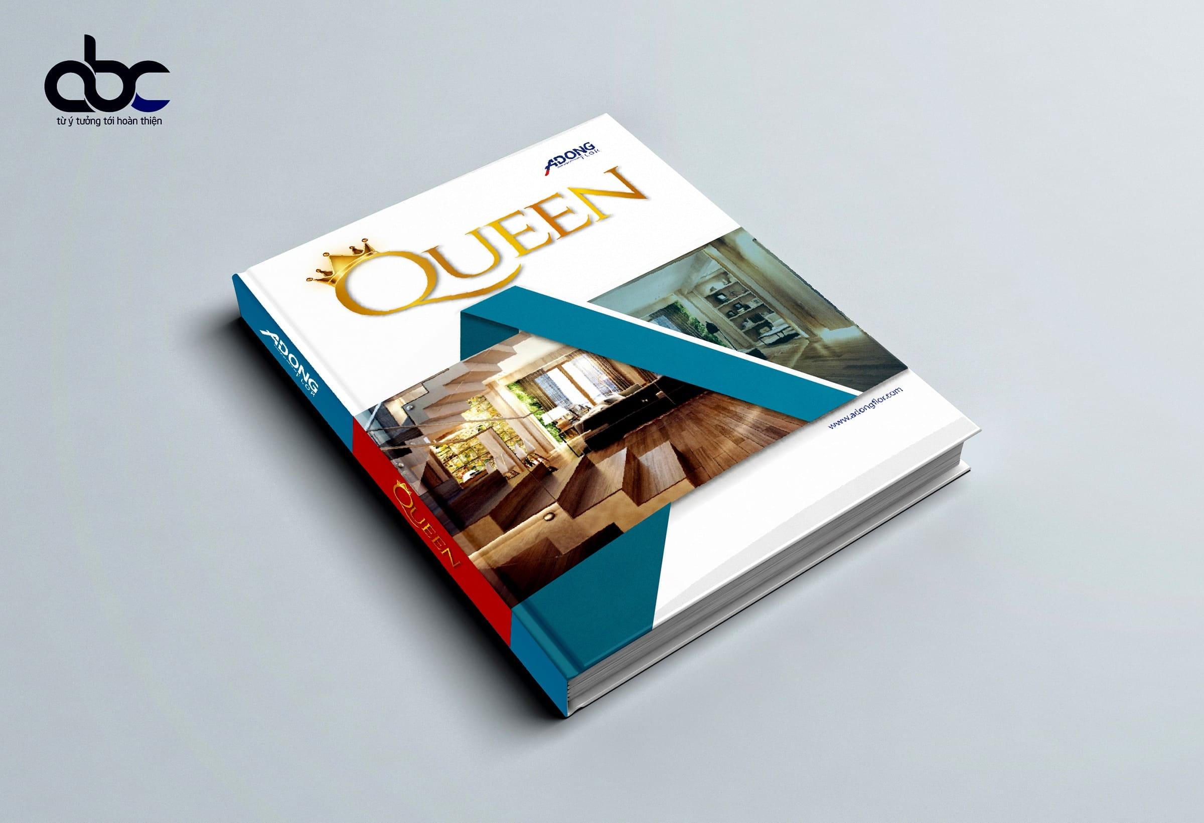 Thiết Kế Catalogue Queen - Truyền Thông ABC Việt Nam