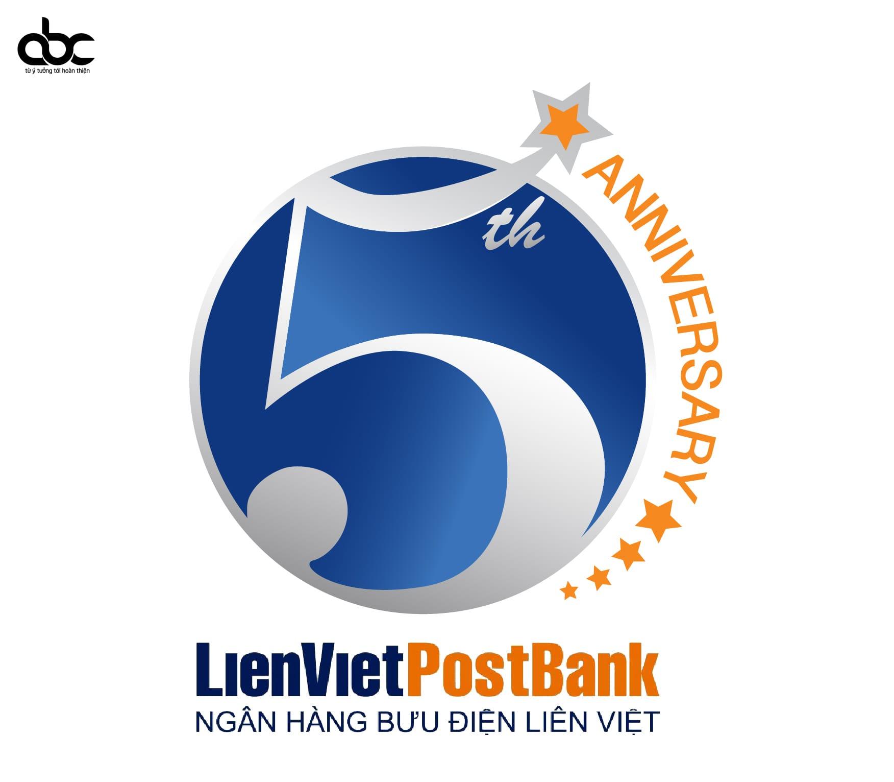 thiet-ke-logo-su-kien-sinh-nhat-5-nam-lien-viet-post-bank